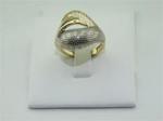 кольцо с алмазной гранью3.85