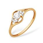 кольцо с вставками1.16